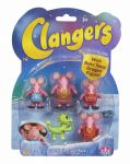 The Clangers - SET OF 5 FIGURES Including BABY SOUP DRAGON - NEW